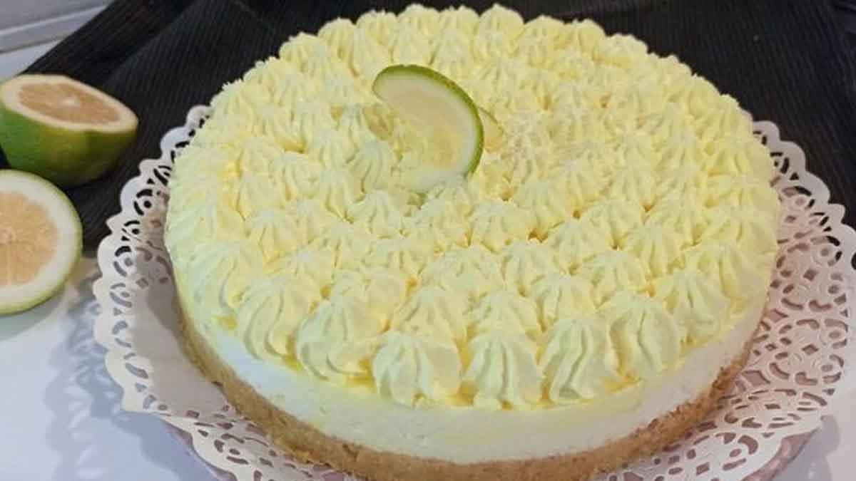 Cheesecake au citron sans gluten