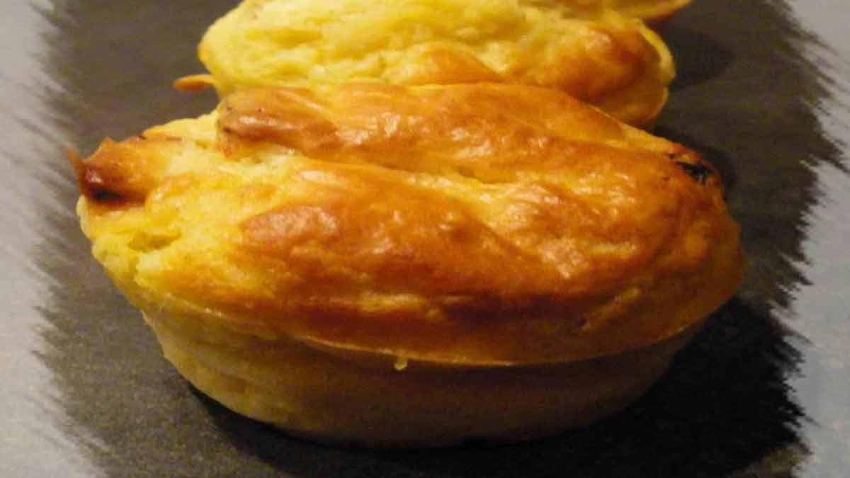 Délicieux muffins aux tomates séchées