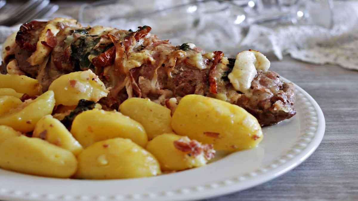 Filet de porc méditerranéen