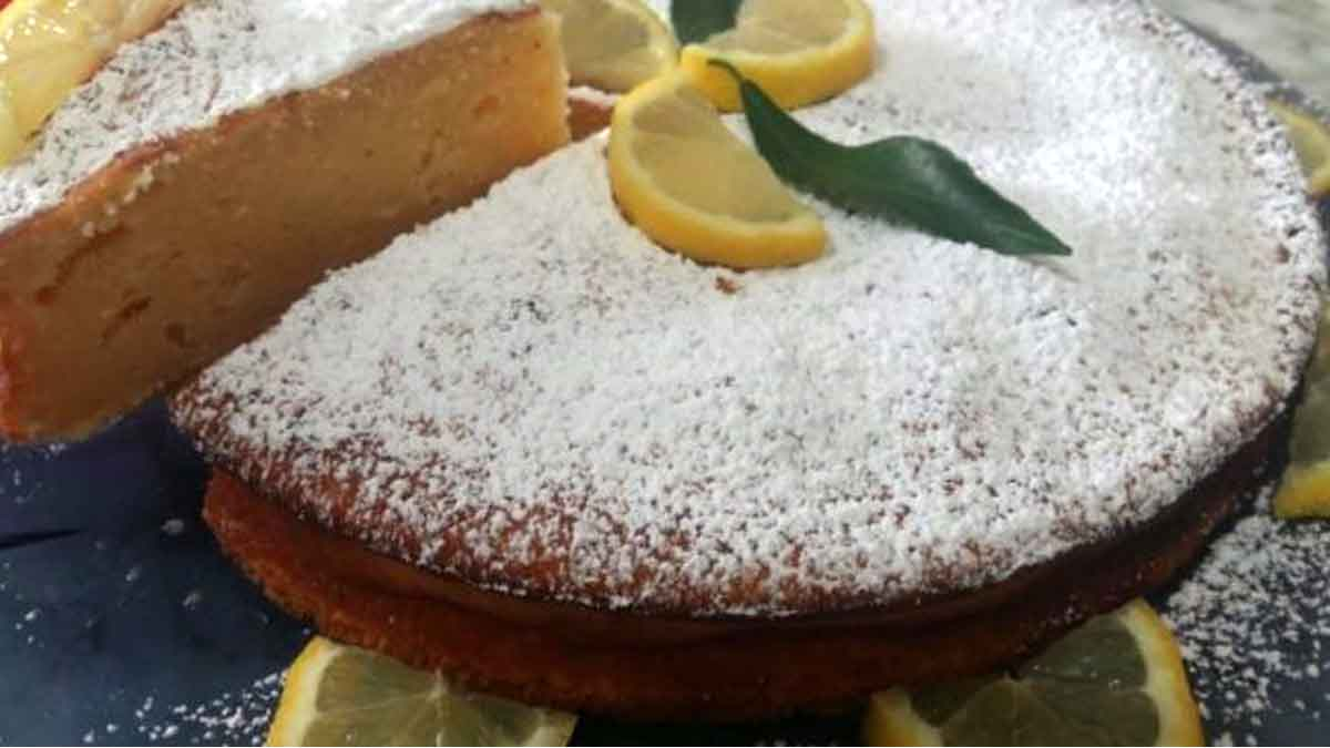 Gâteau au citron et au mascarpone