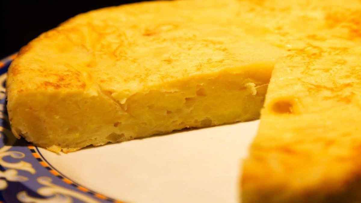 Gâteau de pommes de terre invisible