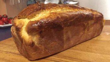 Parfait pain brioché au yaourt parfumé au citron