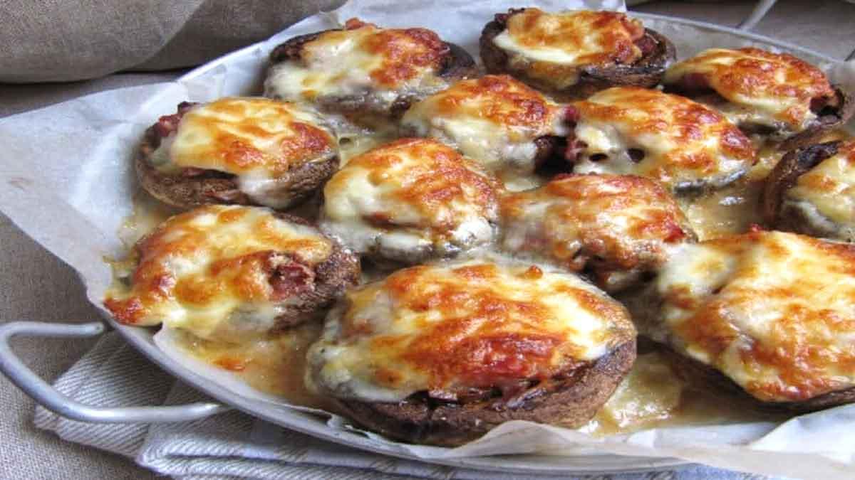 champignons farcis à l'italienne