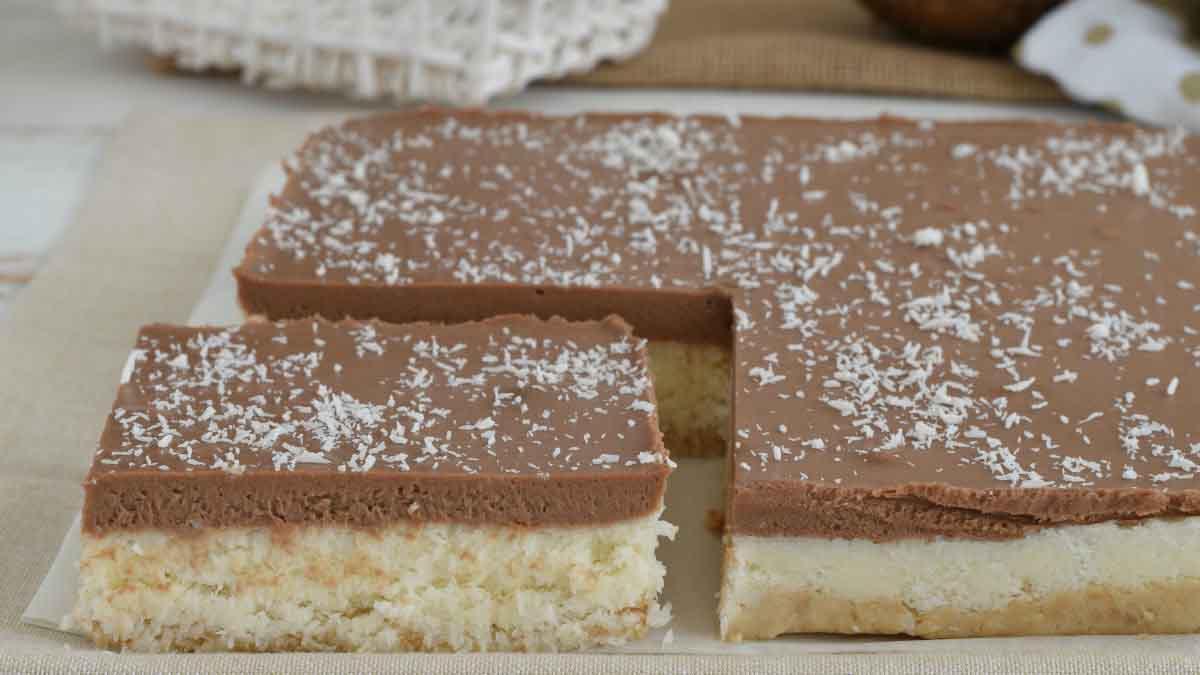 cheesecake à la noix de coco et Nutella