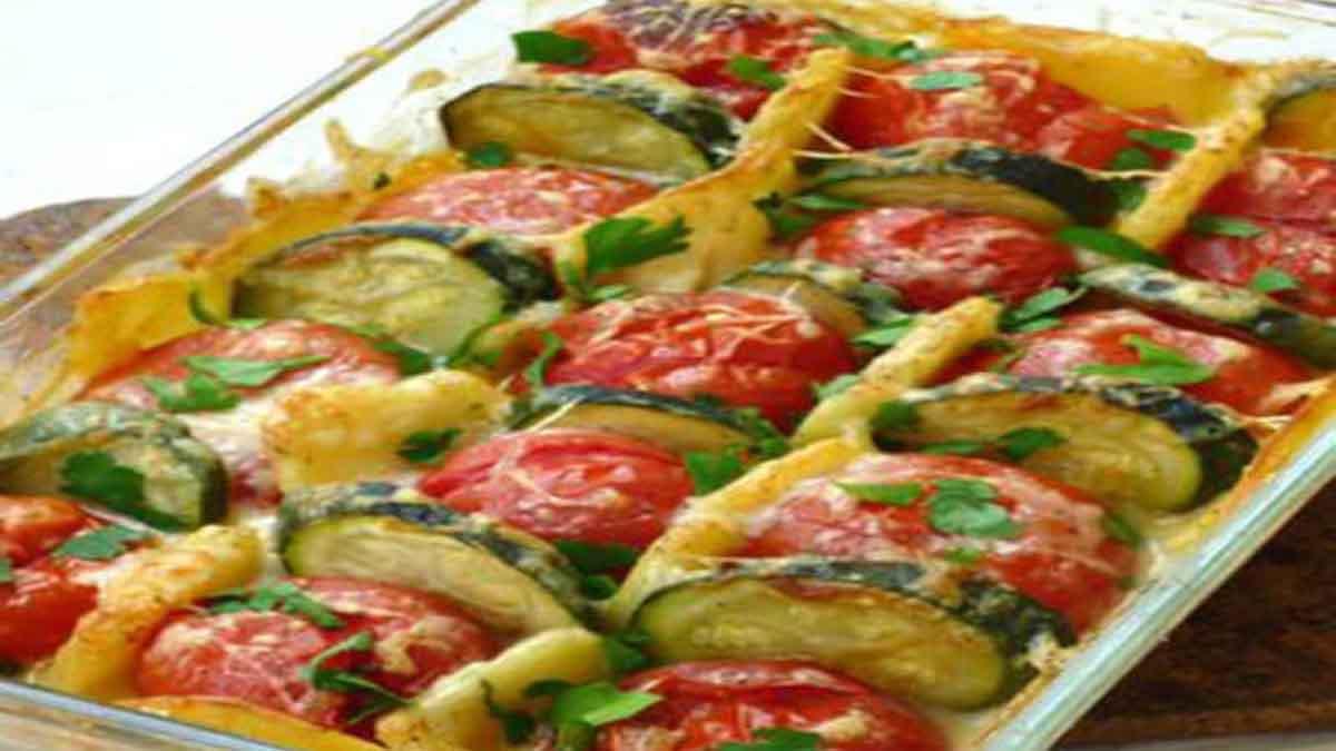 délicieux gratin léger aux légumes