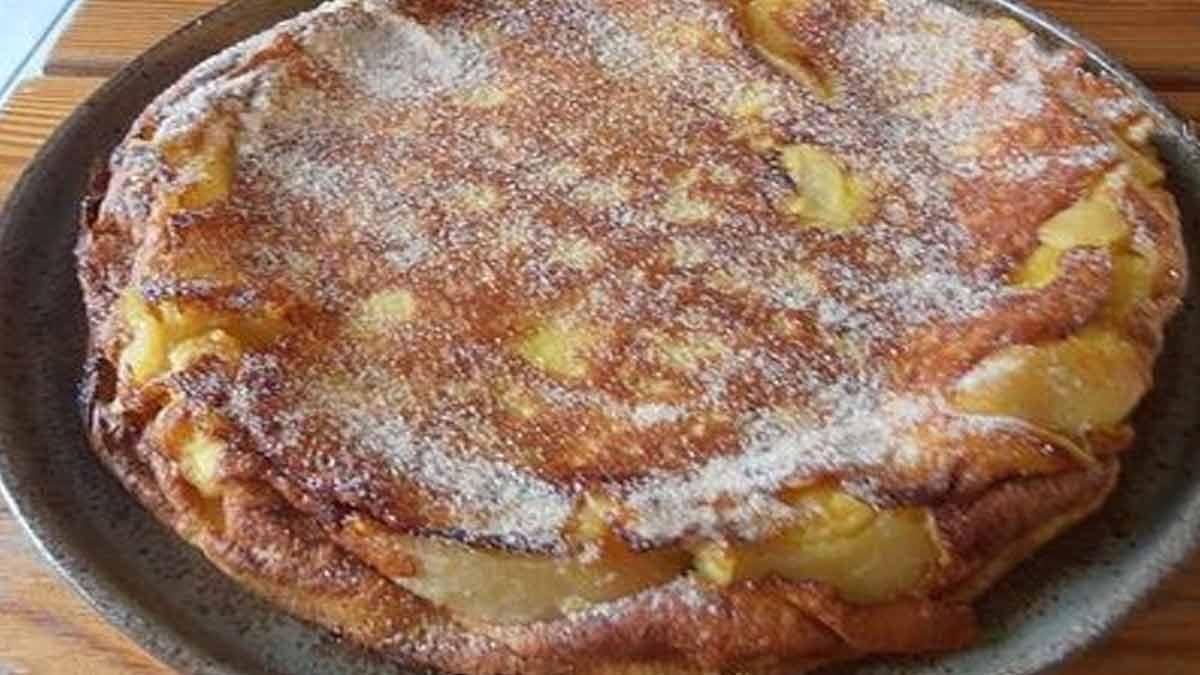 flamusse aux pommes