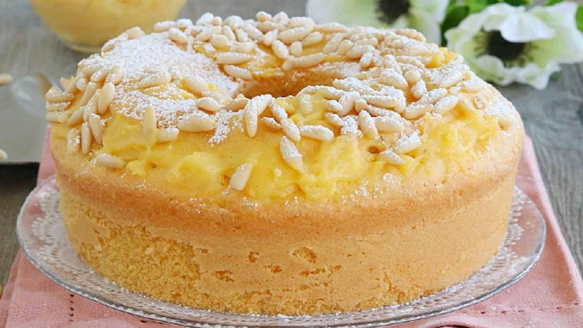 gâteau à la crème de grand-mère