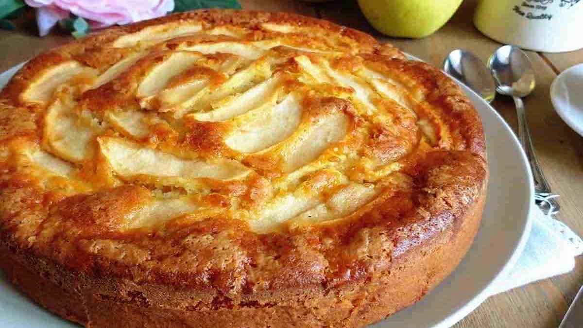 gâteau aux pommes de mamie
