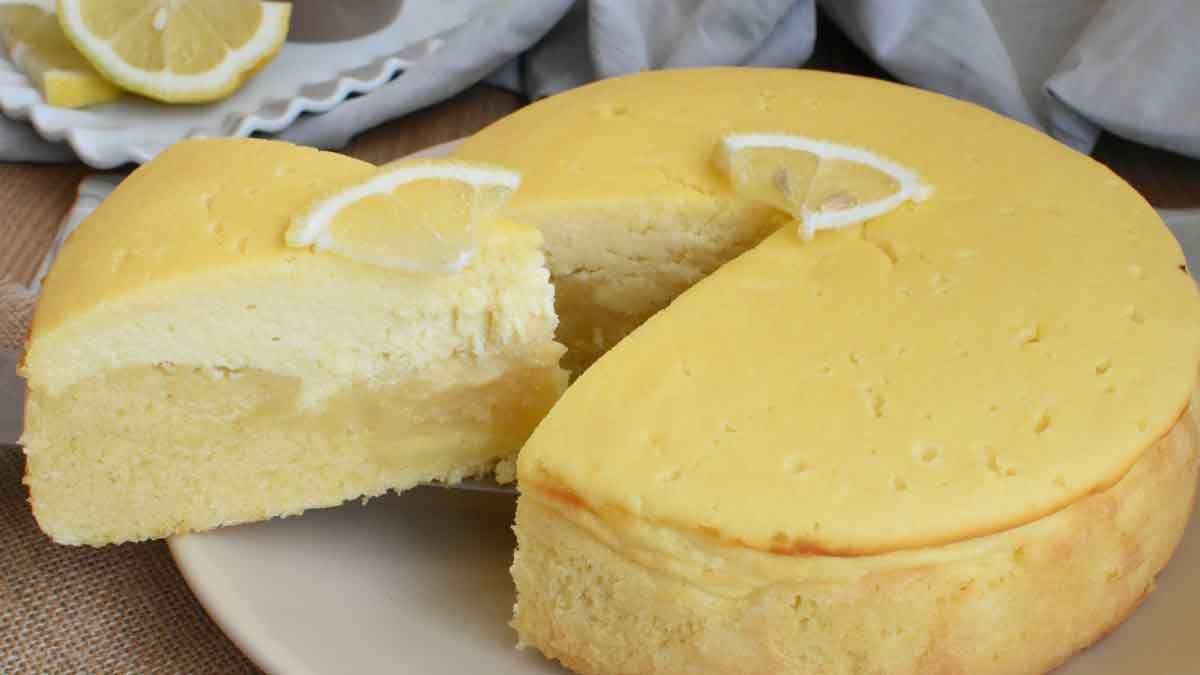 gâteau crémeux à la ricotta et au citron