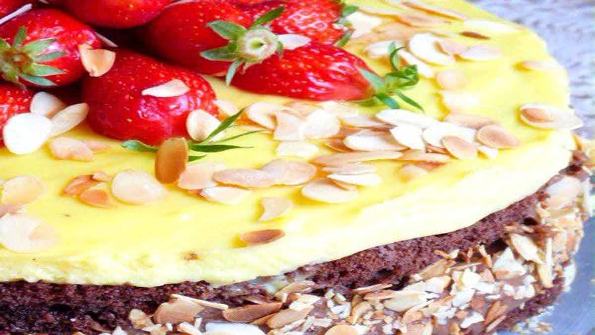 gâteau vanille et chocolat