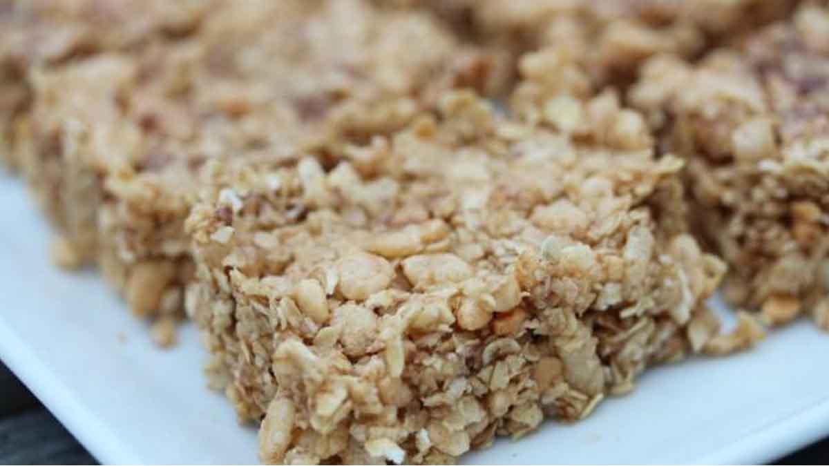granola barres au chocolat