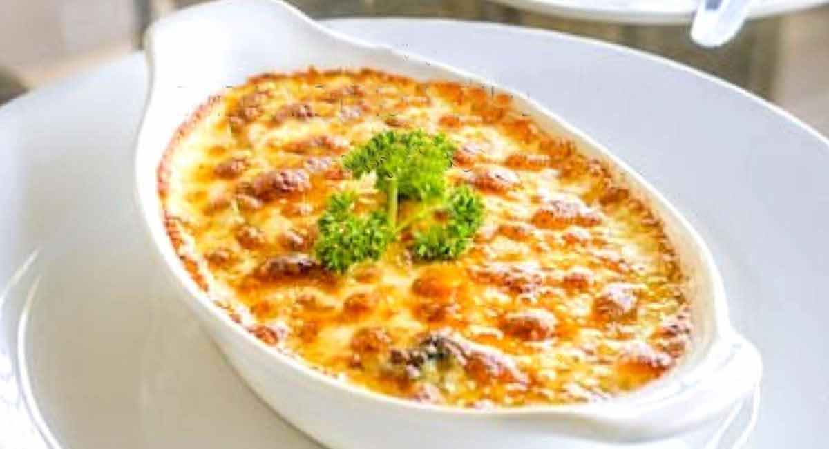 gratin de butternut et châtaignes
