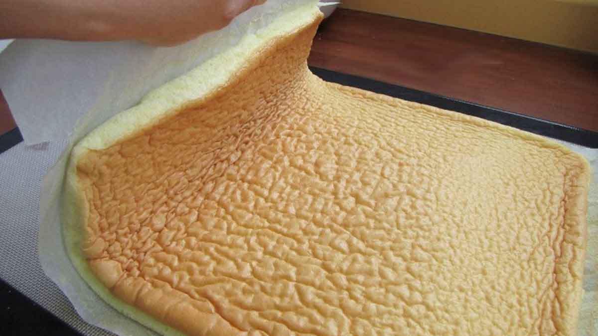 pâte à génoise sans beurre