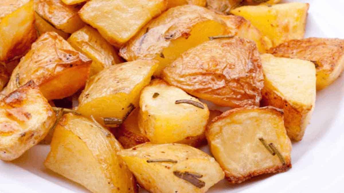 pommes de terre bouillies au four