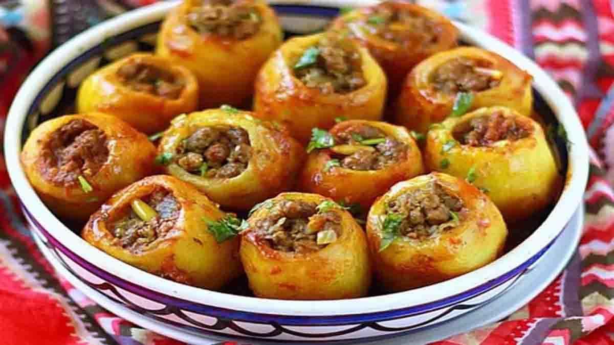 pommes de terre farcies à la viande hachée