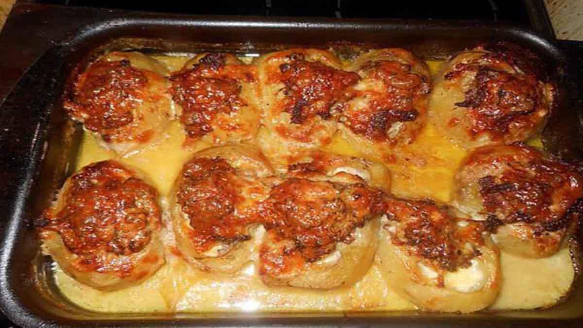 pommes de terre farcies à l'auvergnate