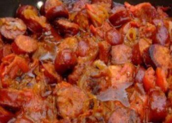 rougail saucisse spécialité créole