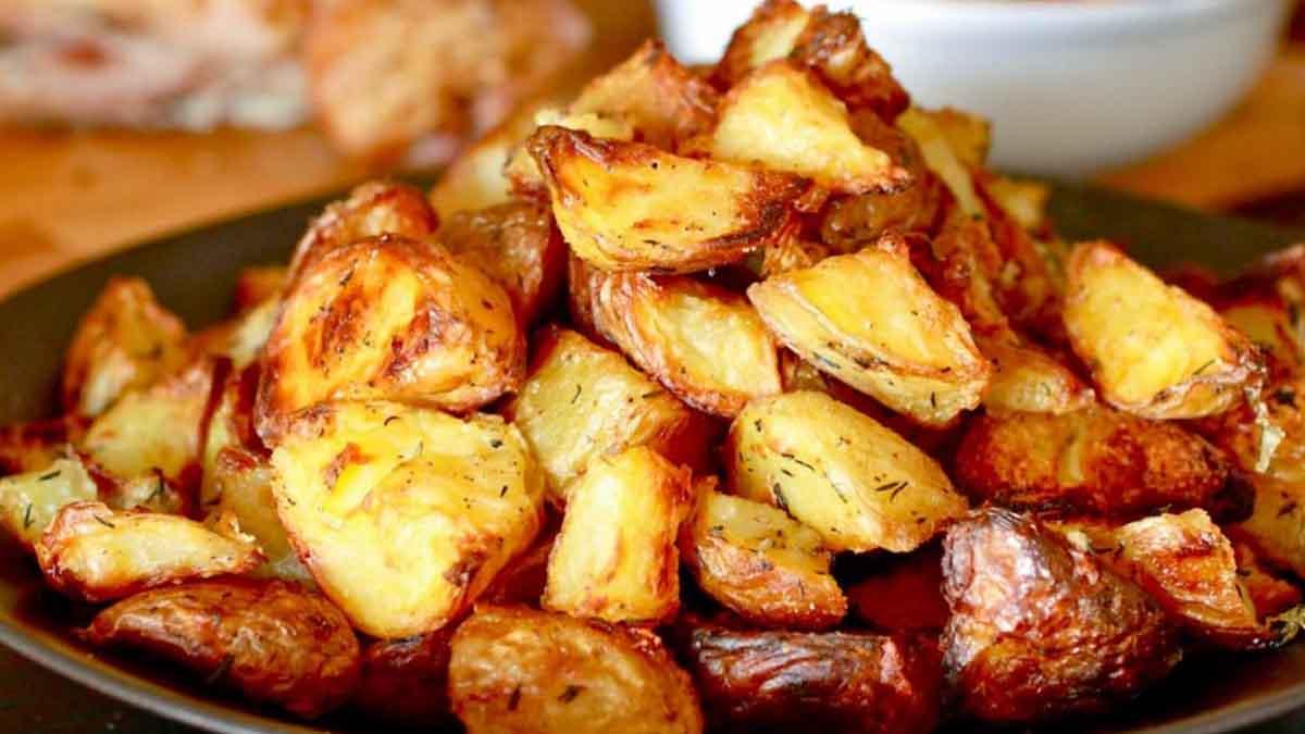 savoureuses pommes de terre au four