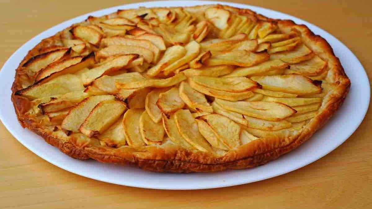 tarte aux pommes hyper facile