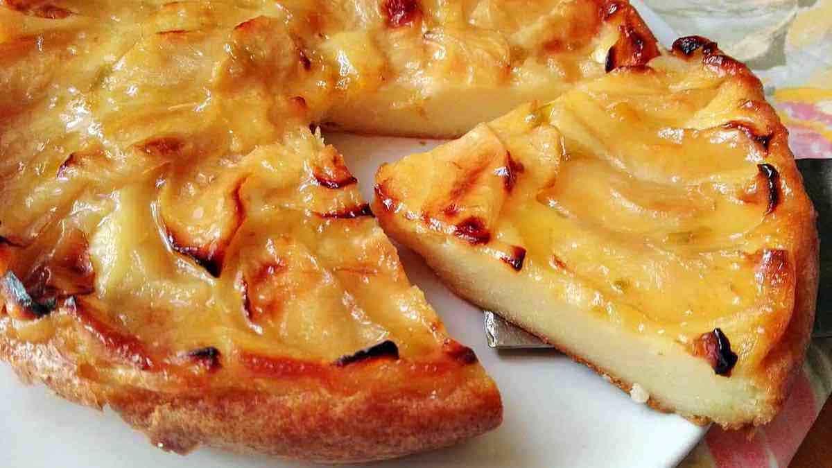 tarte aux pommes parfumée à la cannelle