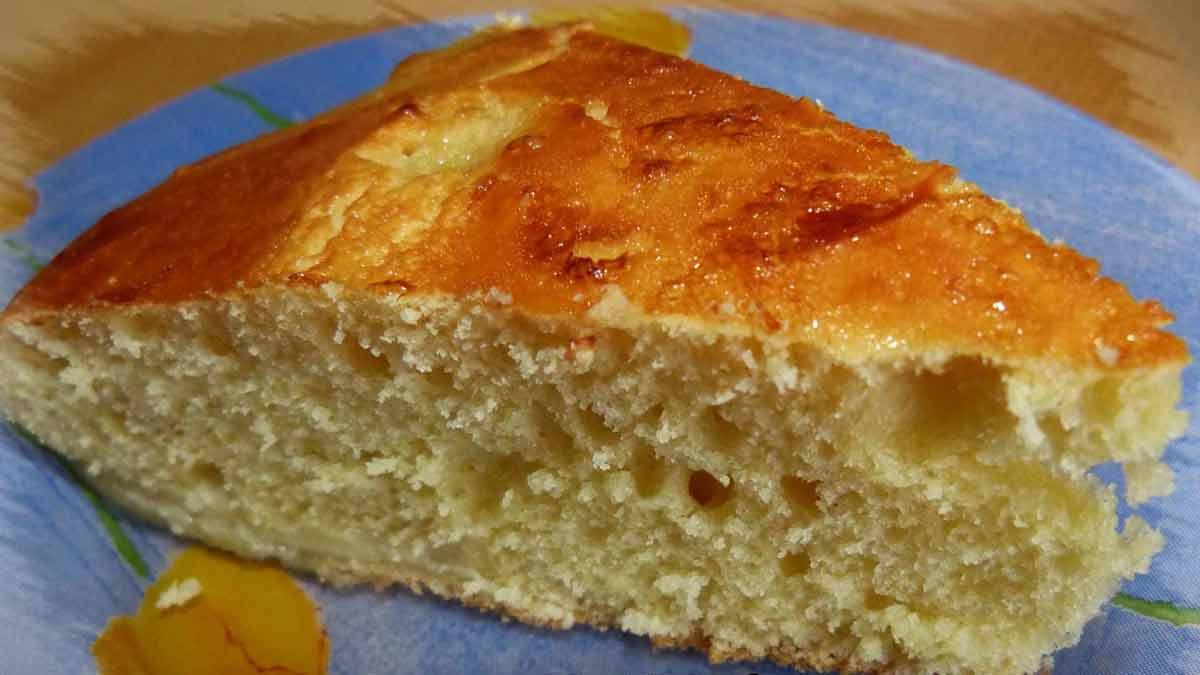 tarte briochée à la fleur d'oranger