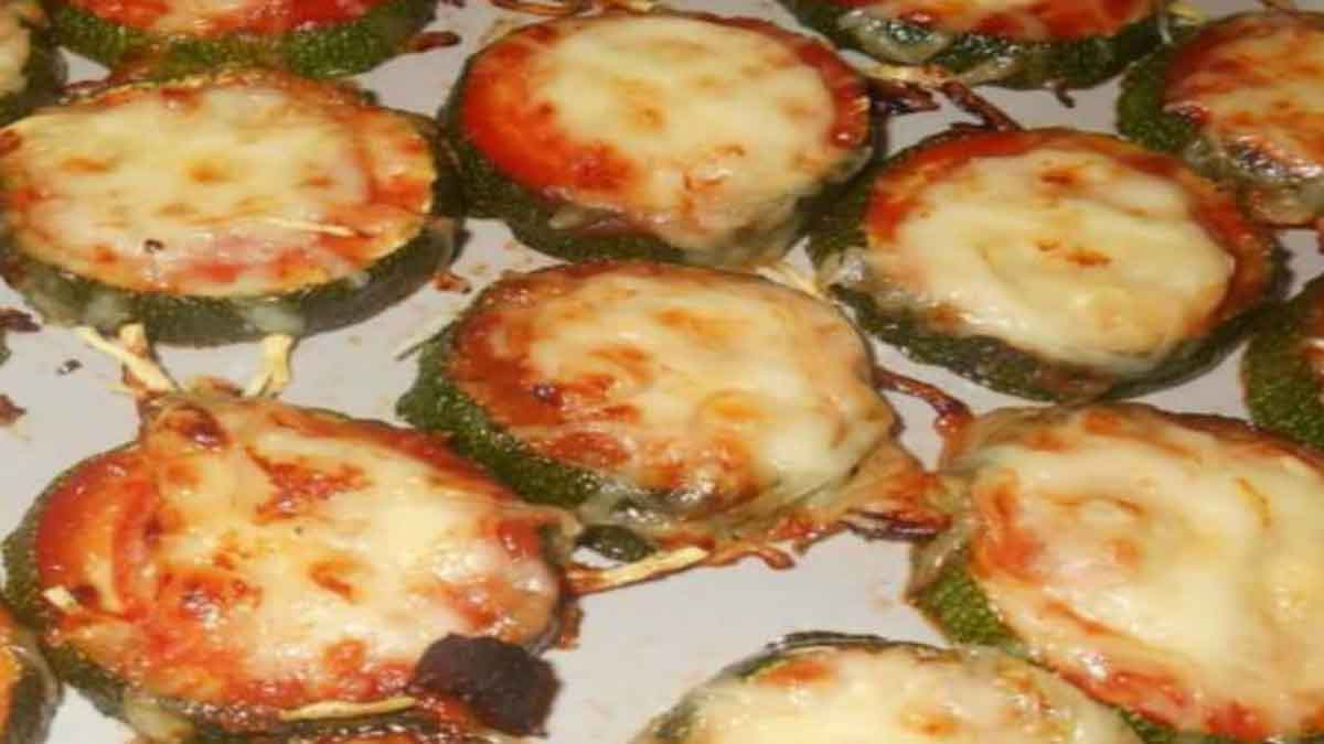 toasts de courgettes