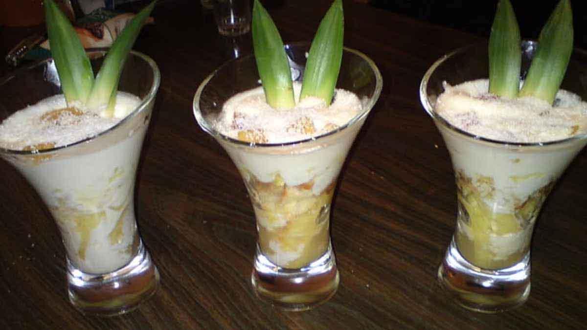 verrines de tiramisu à la noix de coco