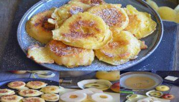 Beignets succulents aux pommes