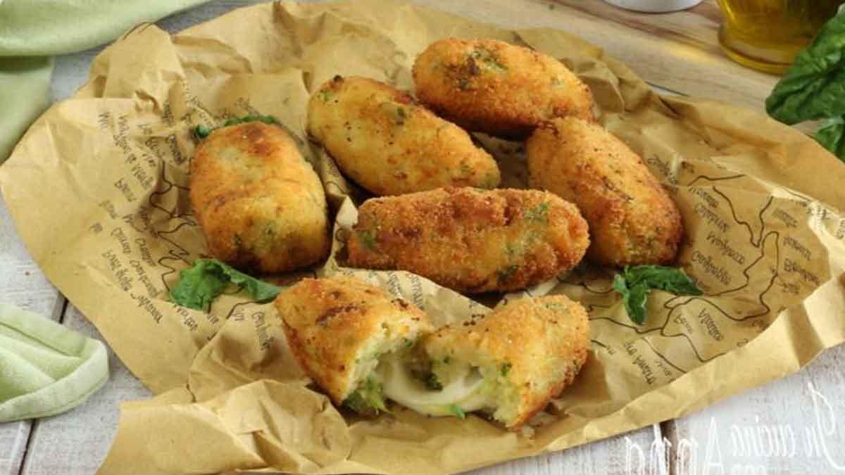 Croquettes de pommes de terre et courgettes