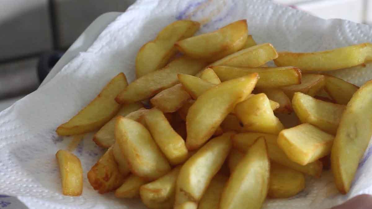 Frire les pommes de terre à froid
