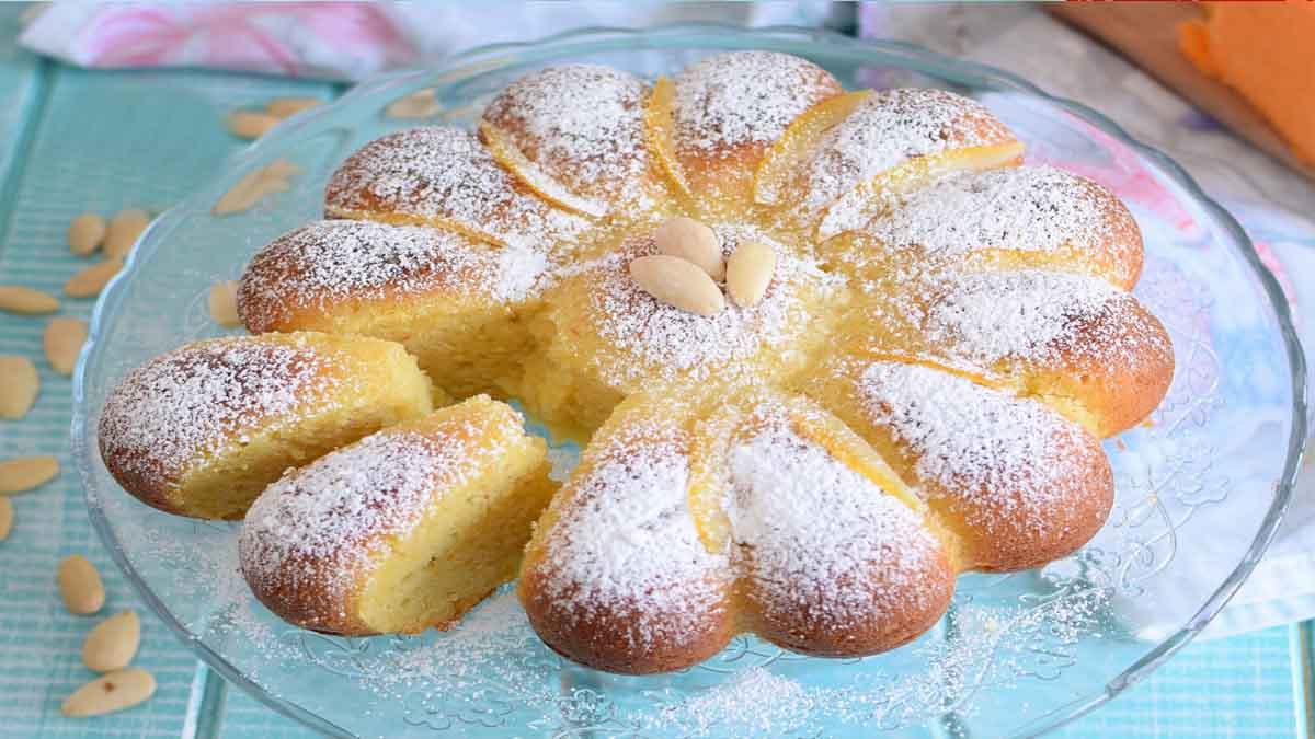Gâteau à la citrouille et amandes