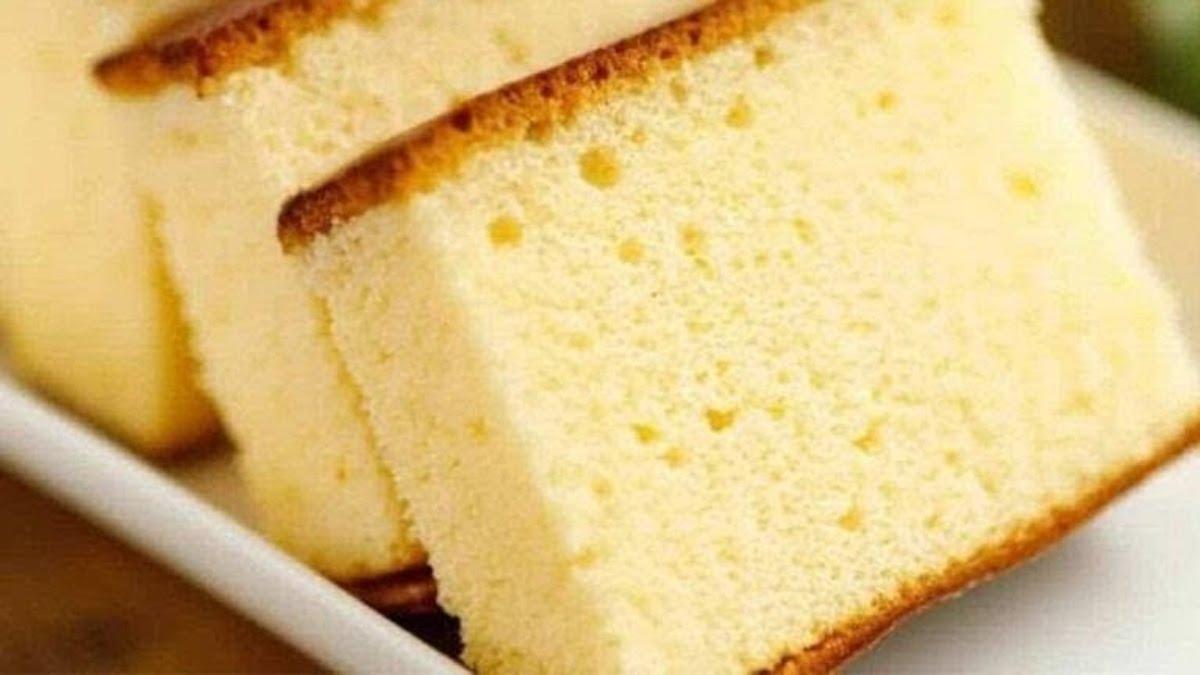 Gâteau à la vanille cuit au micro-ondes