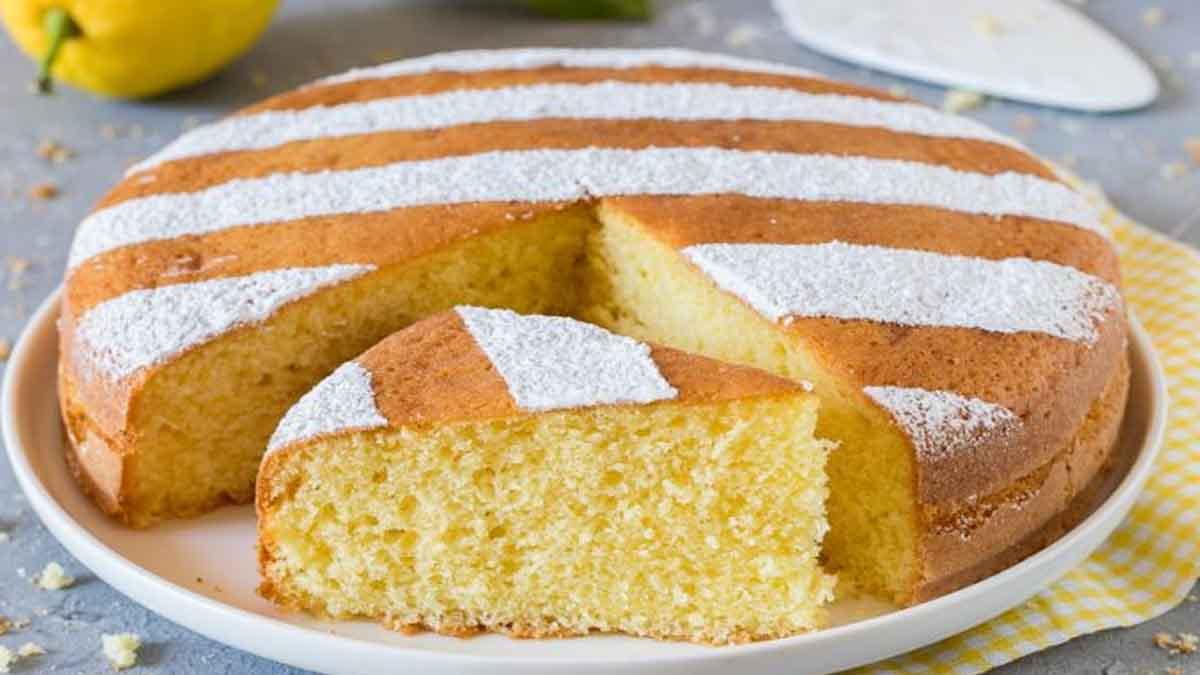 Gâteau au citron ultra moelleux