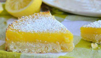 Gâteau aux barres de citron