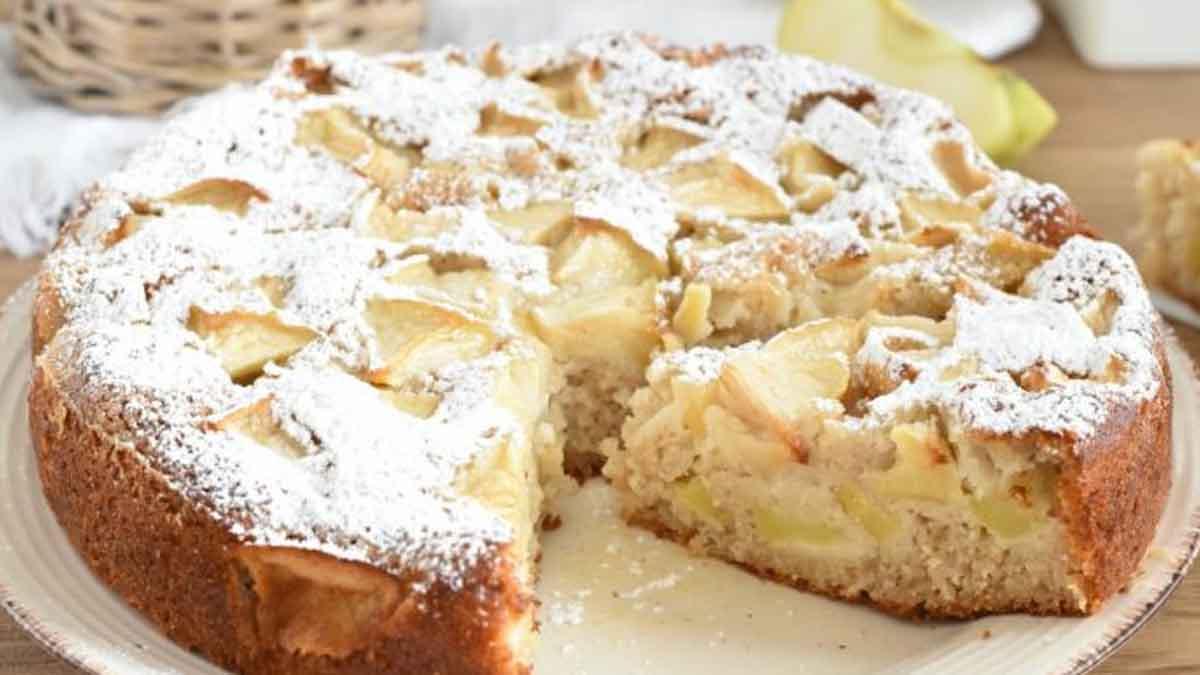 Gâteau aux pommes ultra doux