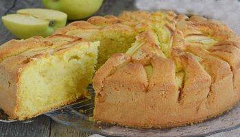 Gâteau aux pommes ultra moelleux