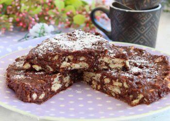 Gâteau salame au chocolat