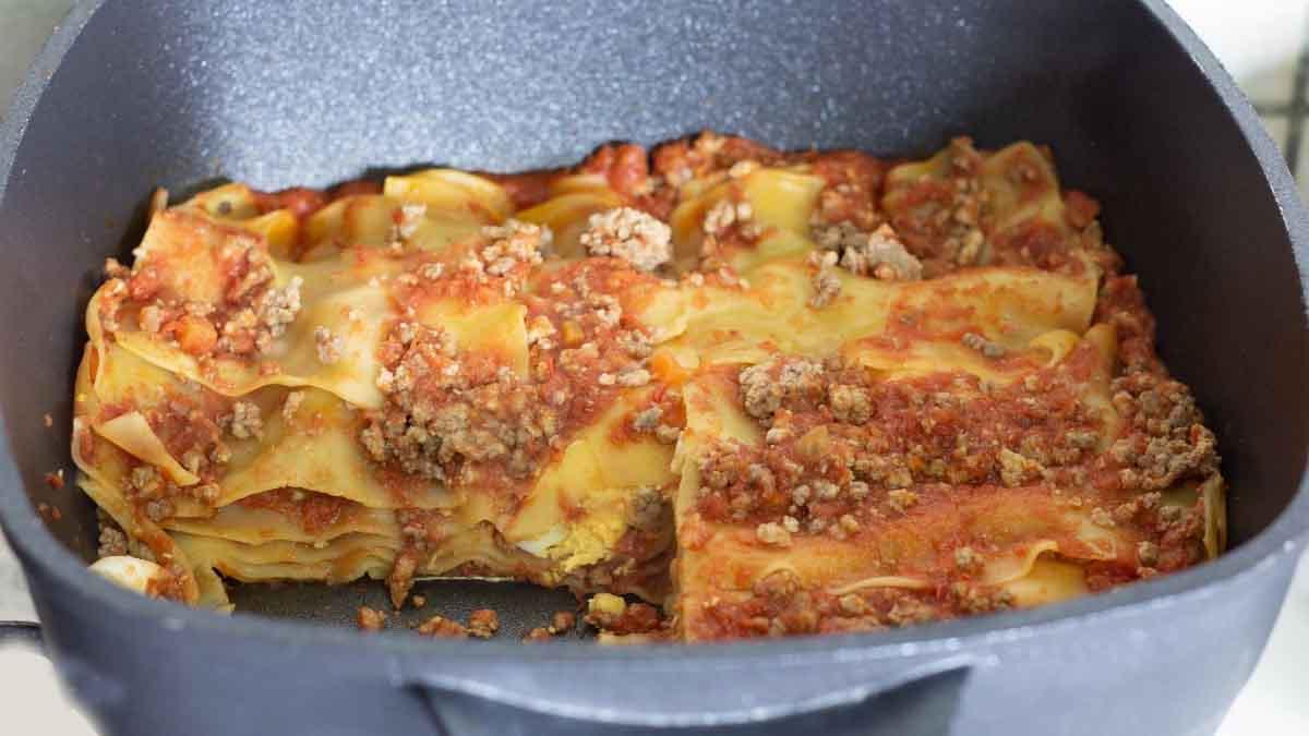 Lasagnes à la sauce viande