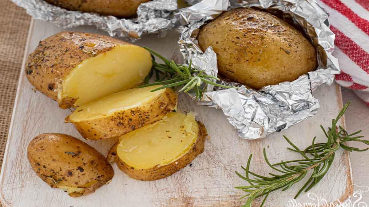 Pommes de terre rôties à la friteuse à air
