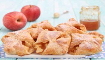 Raviolis aux pommes et à la confiture