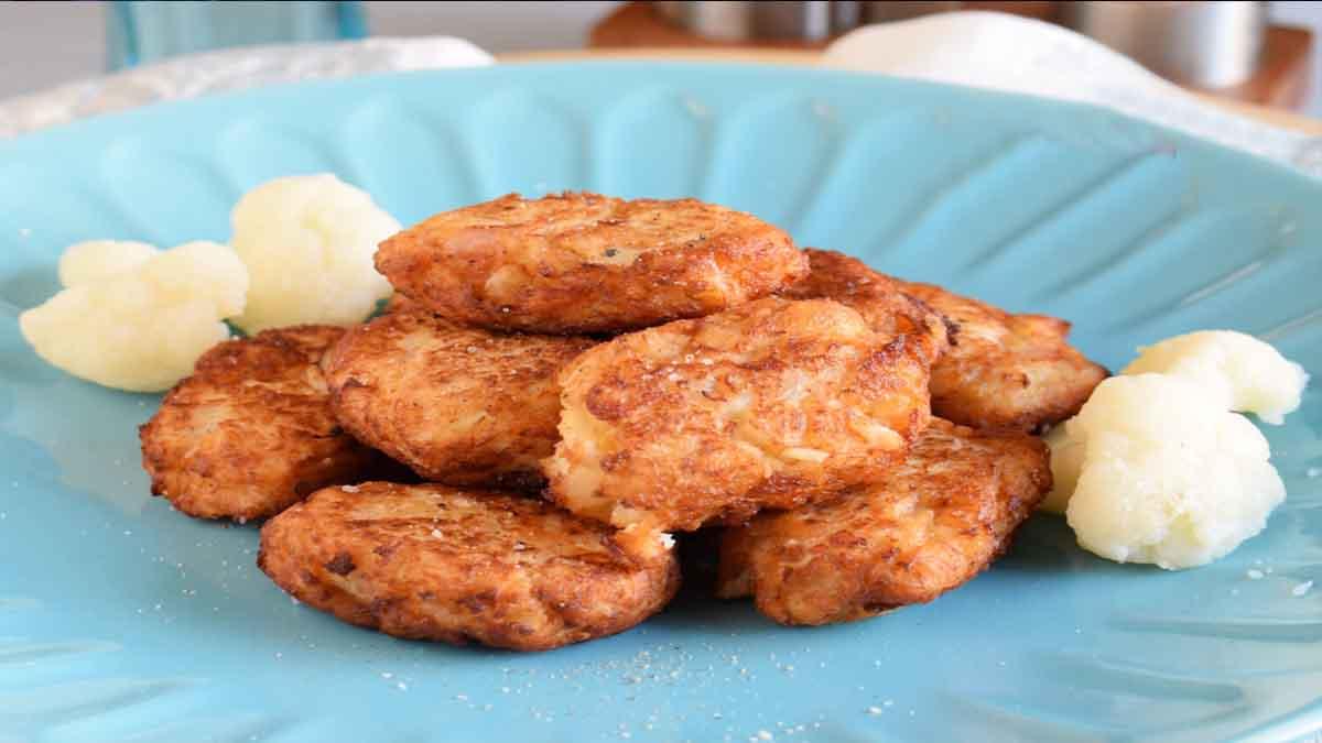 beignets de chou-fleur frits