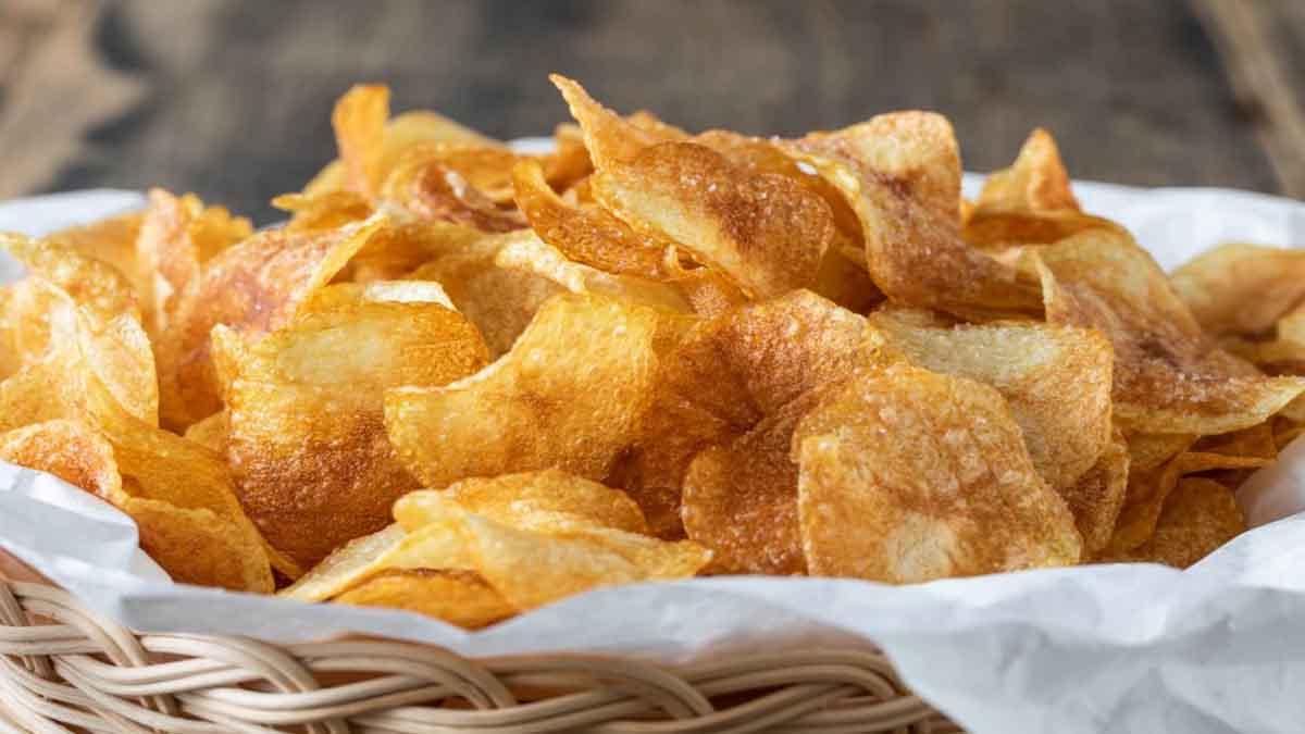 chips de pommes de terre très croustillantes