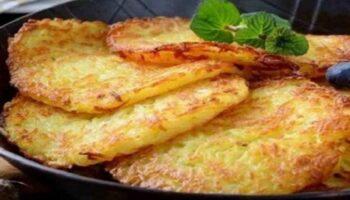 Comment faire les crêpes de pommes de terre maison