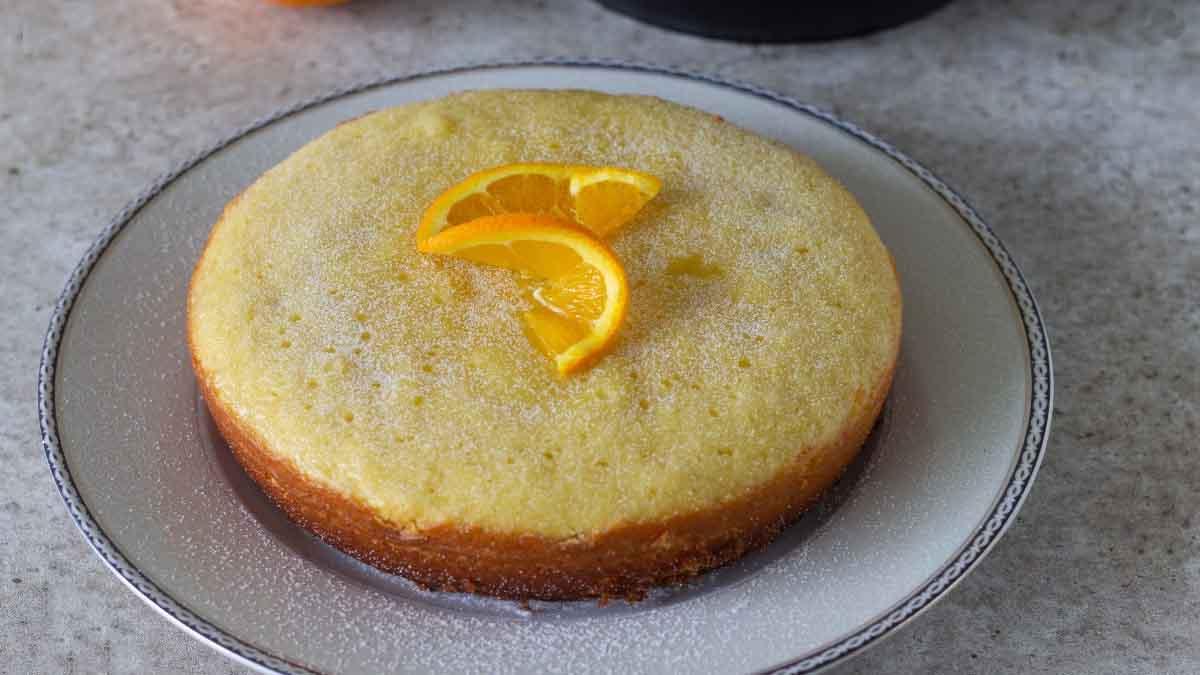 gâteau à l'orange cuit au magic cooker