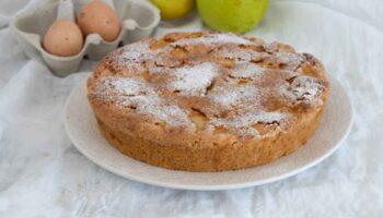 Gâteau rustique aux pommes tellement moelleux et parfumé