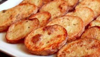 pommes de terre au four croustillantes