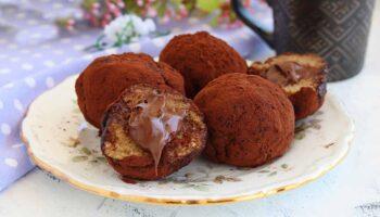 truffes tiramisu au nutella